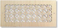 decorative wood vent cover