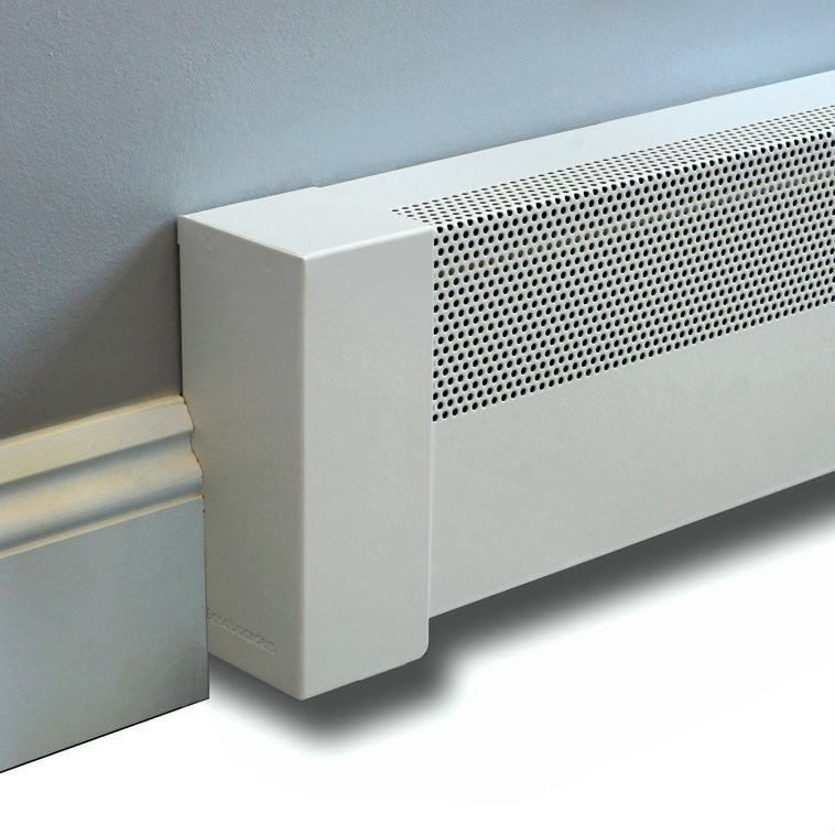 Basic Baseboard Cover 6 Ft Length Vent And Cover