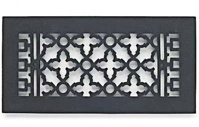 Scroll Metal Grille