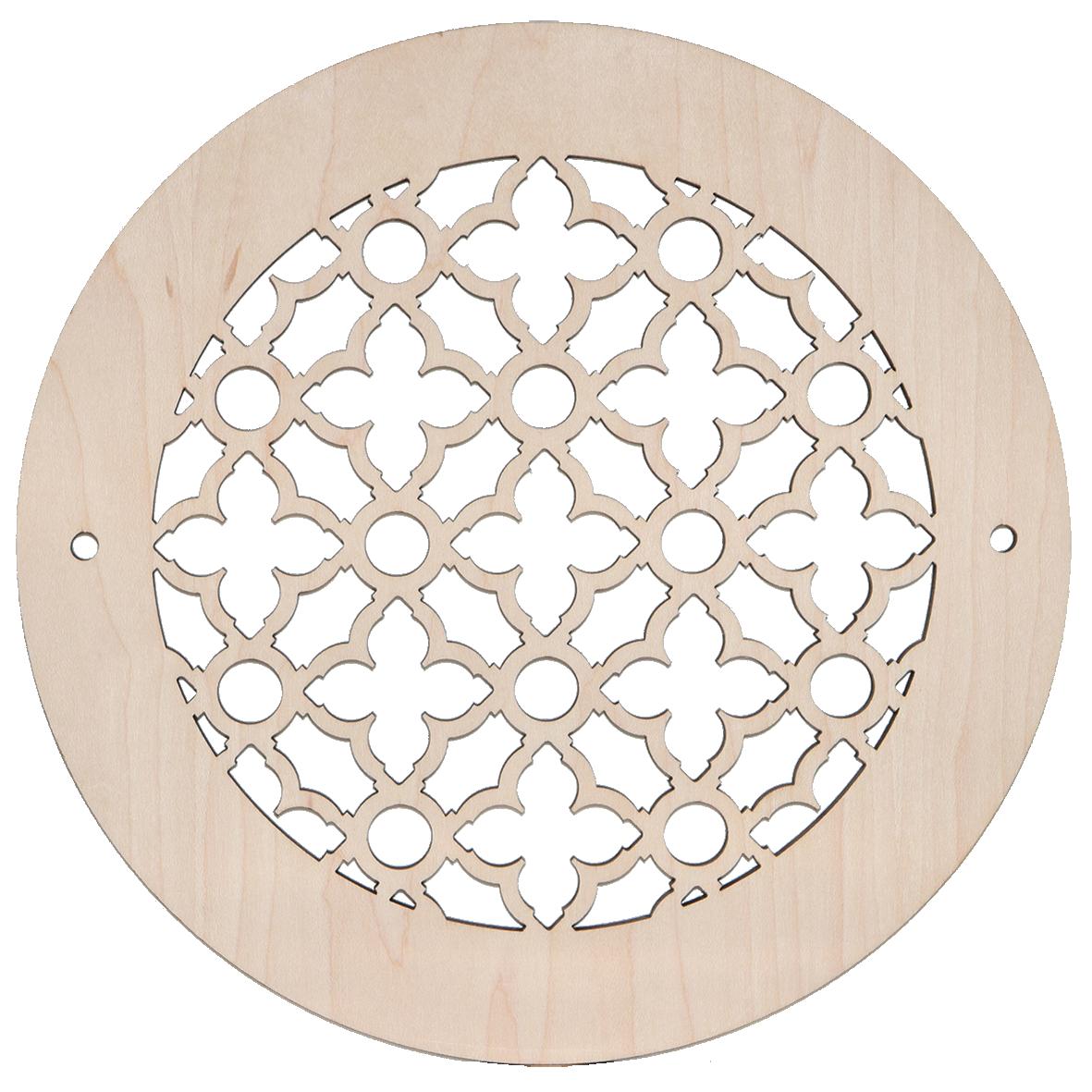 Wood Round Vent Cover Ventandcover Com