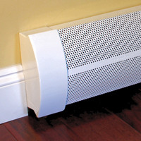 3' Elliptus Baseboard Heater Cover