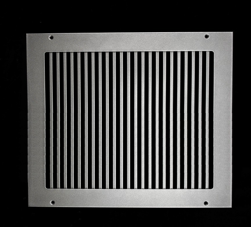 Custom Pro Vertical White Finish Return Vent Cover 20 Quot W