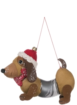 Dog Springer Ornament