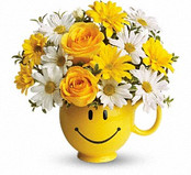 Smile and Be Happy Gift Bouquet