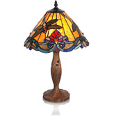 Swirling Dragon Fly Table Lamp
