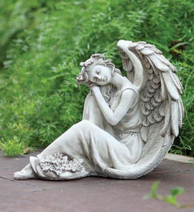 Sleeping Angel Statue Soderbergs Floral And Gift