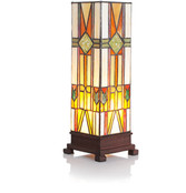"14"" Mission Style Accent Lamp"