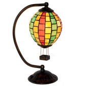 Tiffany Style Air Balloon Accent Lamp