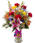 *Soderberg's Exclusive - Lake of the Isles  Garden Bouquet W/Free Gift