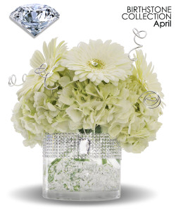 April Birthstone Collection - Soderberg's - Birthday Flowers