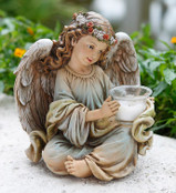 Parc Place Angel Candleholder