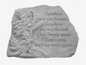 Goodbyes are not with fern... Memory Stone