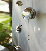 Moon Bell Chimes Silver