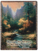 Creekside Trail Tapestry Throw Blanket