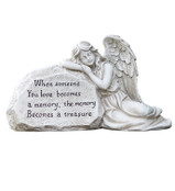 Angel Sleeping on Plaque