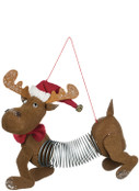 Moose Springer Ornament