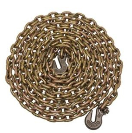 Chain GR70 3/8X20' Binder DOT Transport Tie Down