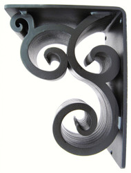 Isabelle-40B   7.5D 10.0H 4.0W Iron Corbel