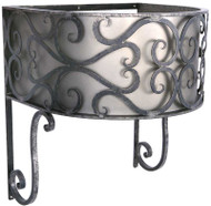 Shown in Antique Pewter