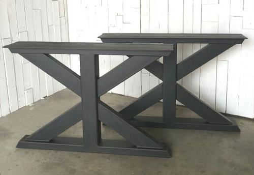 ... Trestle Metal Table Legs. Image 1