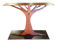 Oak Tree Console Table