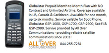 Globalstar prepaid plans are back!