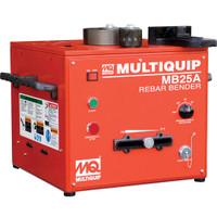 "Multiquip MB25A Rebar Bender - Electric/Mechanical, 1"" #8 capacity, 115V/60Hz"