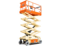 JLG 3246ES Electric Scissor Lift - Machine Width: 3 ft 10 in., Platform Height: 31 ft 9 In.