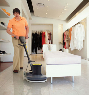Commercial Floor Machines & Burnishers