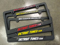 Detroit Tuned License Plate Frame