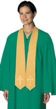 Traditional Stole with Latin Crosses