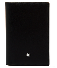 Montblanc Meisterstück Business Card Holder 9CC Black Leather 114536