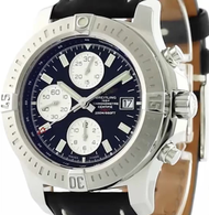Breitling Colt Chronograph Leather Auto Men Watch A1338811/BD83/435X