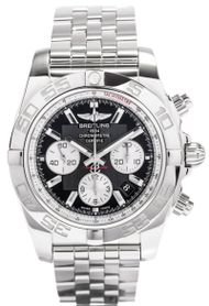 Breitling Chronomat 44 Black Dial Automatic Watch AB011012/B967/375A