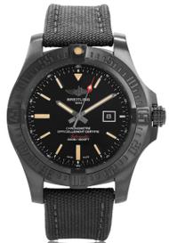 Breitling Avenger Blackbird BLK Titanium Auto Watch V1731010/BD12/100W
