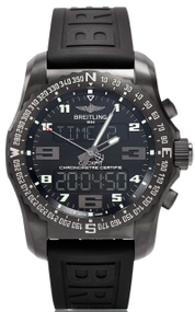 Breitling Cockpit B50 Titanium Rubber Black Watch VB501022/BD41/155S