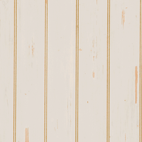 "Hand Scraped Ivory, 4"" beadboard pattern plywood paneling"