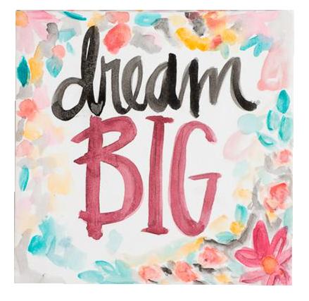 Dream Big Canvas Art