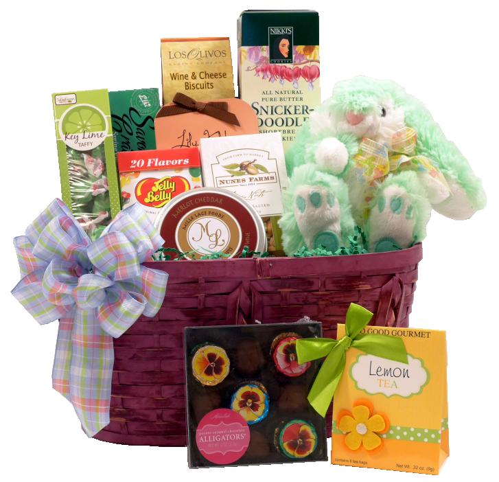 Deluxe Gourmet Easter Gift Basket