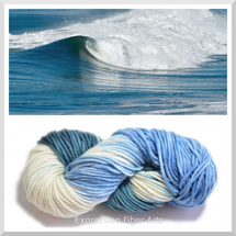 OCEAN CREST OOPSY SUPERWASH WOOL ARAN