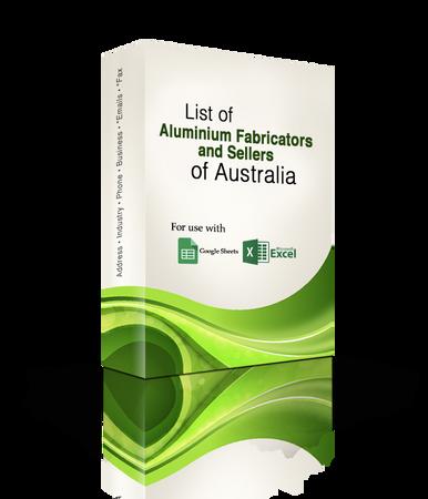 List of Aluminium Fabricators and Sellers Database