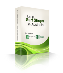 List of Surf Shops Database