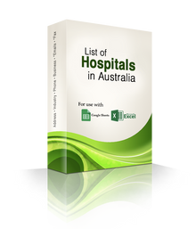 List of Hospitals Database