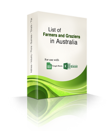 List of Farmers and Graziers Database