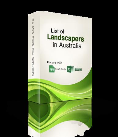 List of Landscapers Database