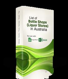 List of Bottle Shops (Liquor Stores) Database
