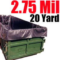 2.75 Mil 20 Yard Dumpster Liners