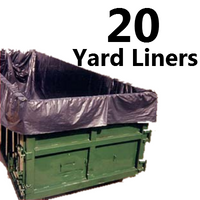 4ML 20 Yard Dumpster Liner