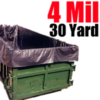 4ML 30 Yard Dumpster Liner