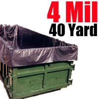 4ML 40 Yard Dumpster Liner